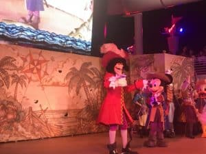 Disney Cruiseline Pirate Night on the Disney Fantasy 30