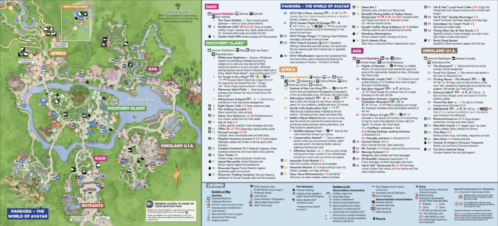 image regarding Printable Maps of Disney World known as Animal Kingdom Map Disney Globe WDW Holiday Strategies