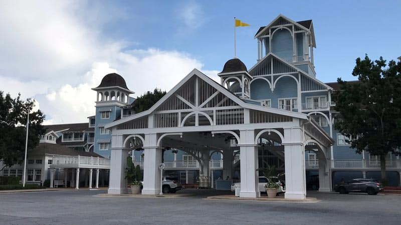 Beach Club Entrance