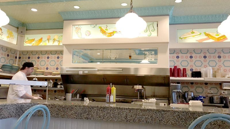 Kitchen at Beaches and Cream