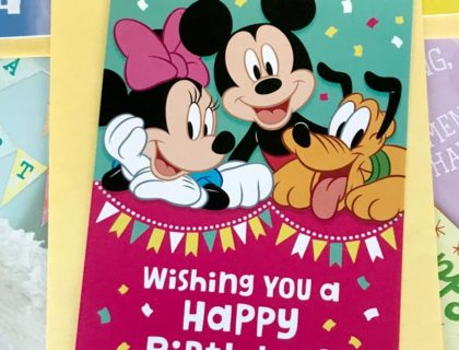 Disney Hallmark Cards now at Dollar Tree 4