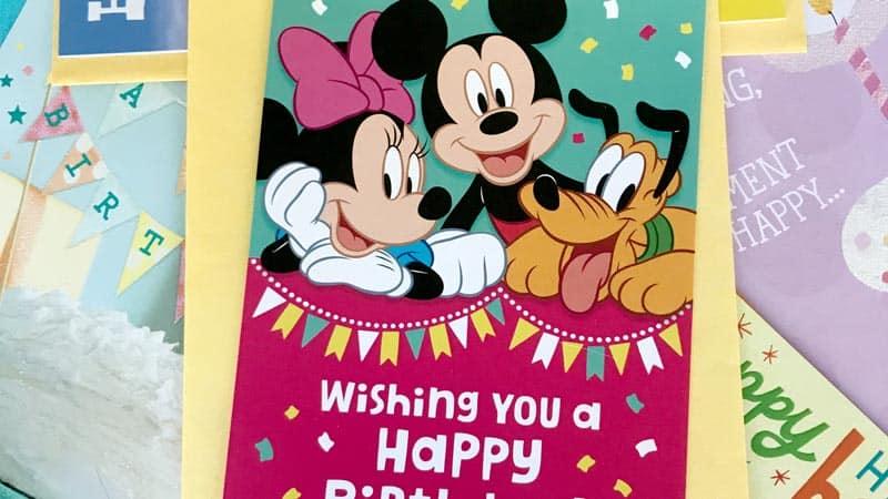 DollarTree Disney Hallmark Card