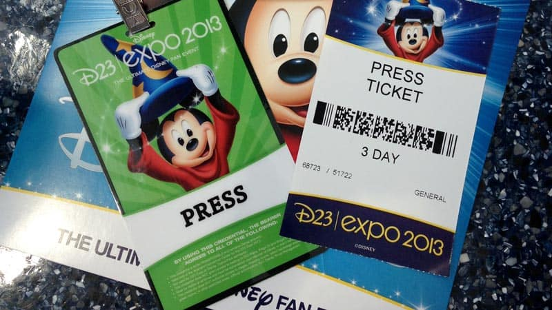 D23 Expo Tickets