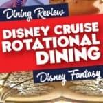 Disney Cruiseline rotational dining
