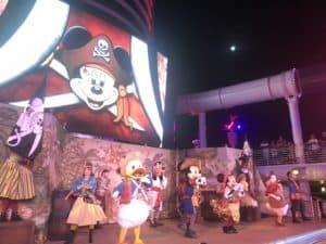 Disney Cruiseline Pirate Night on the Disney Fantasy 28