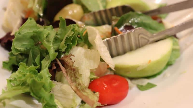 Whispering Canyon salad