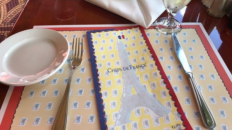 Table Settings Chefs de France