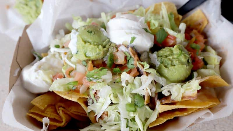 4 Rivers Chicken Nachos