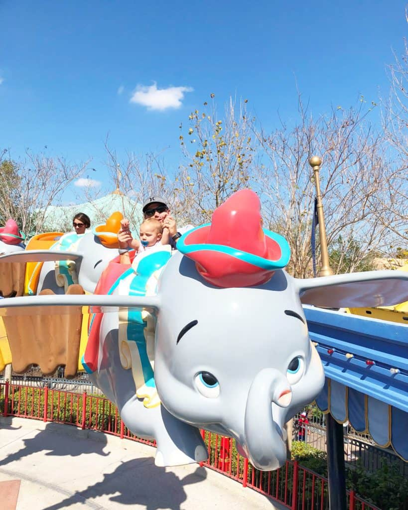 Dumbo Disney World Rides for Babies