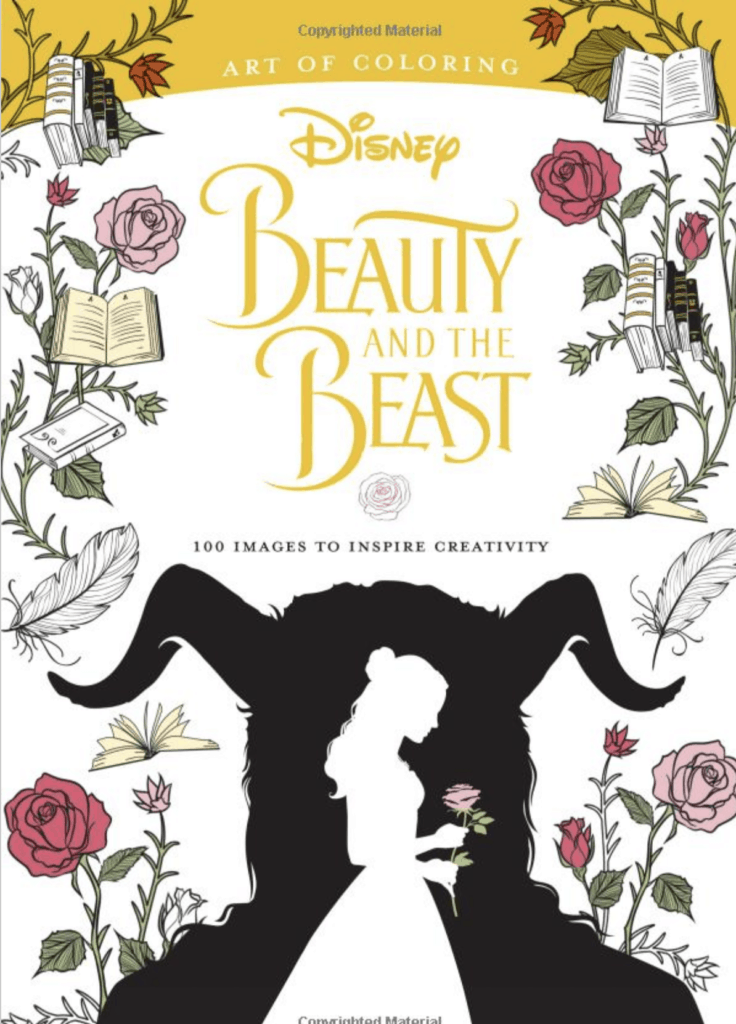 Beauty and Beast Coloring Book