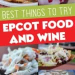 Best things to eat at Epcot Food and Wine Festival