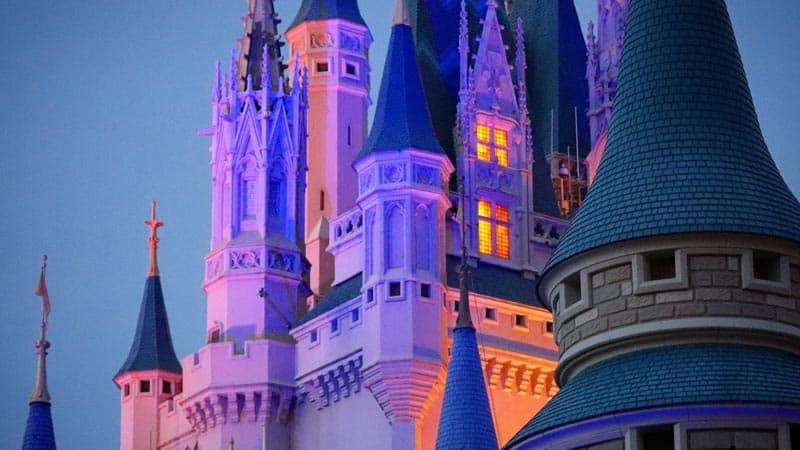Cinderella Castle Night