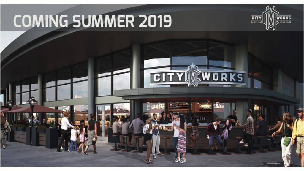 City Works dining disney springs