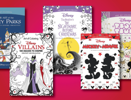 Coloring Books for Disney World