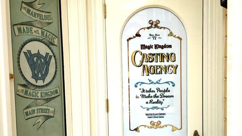 Disney World casting door