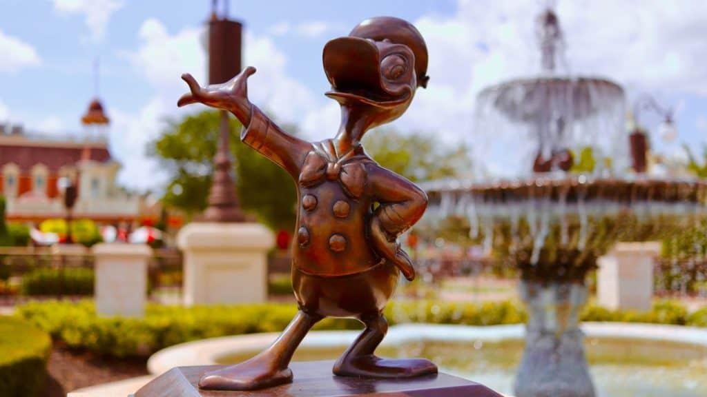 Donald Duck Magic Kingdom