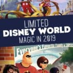 Disney World Limited Time Magic 2019