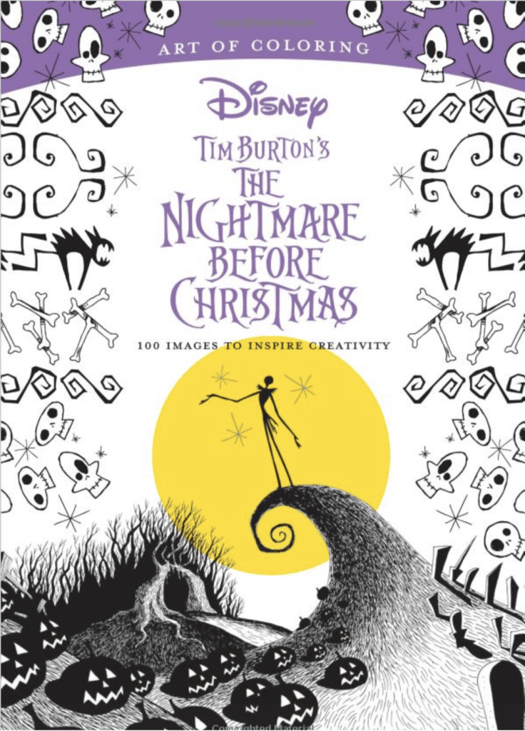 Nightmare before Christmas Coloring Book