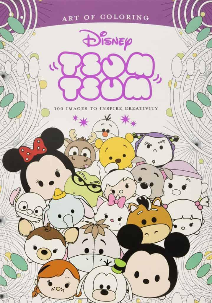Tsum Tsum Coloring Book