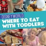 Disney World Where to Eat with Toddlers