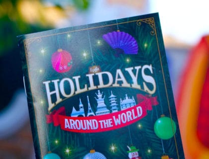 The Magic of Epcot at Christmas 11