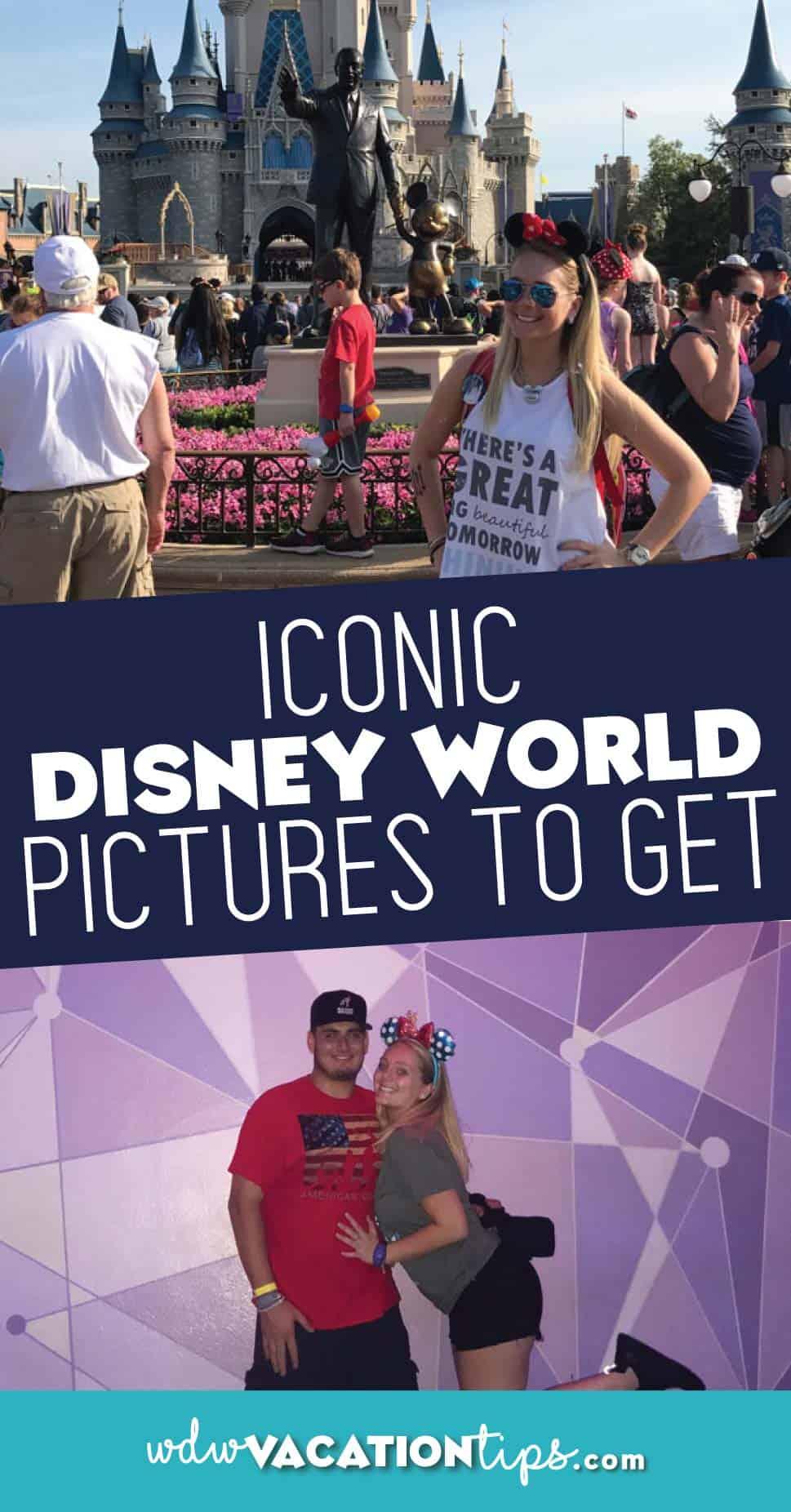 Iconic Disney World Pictures