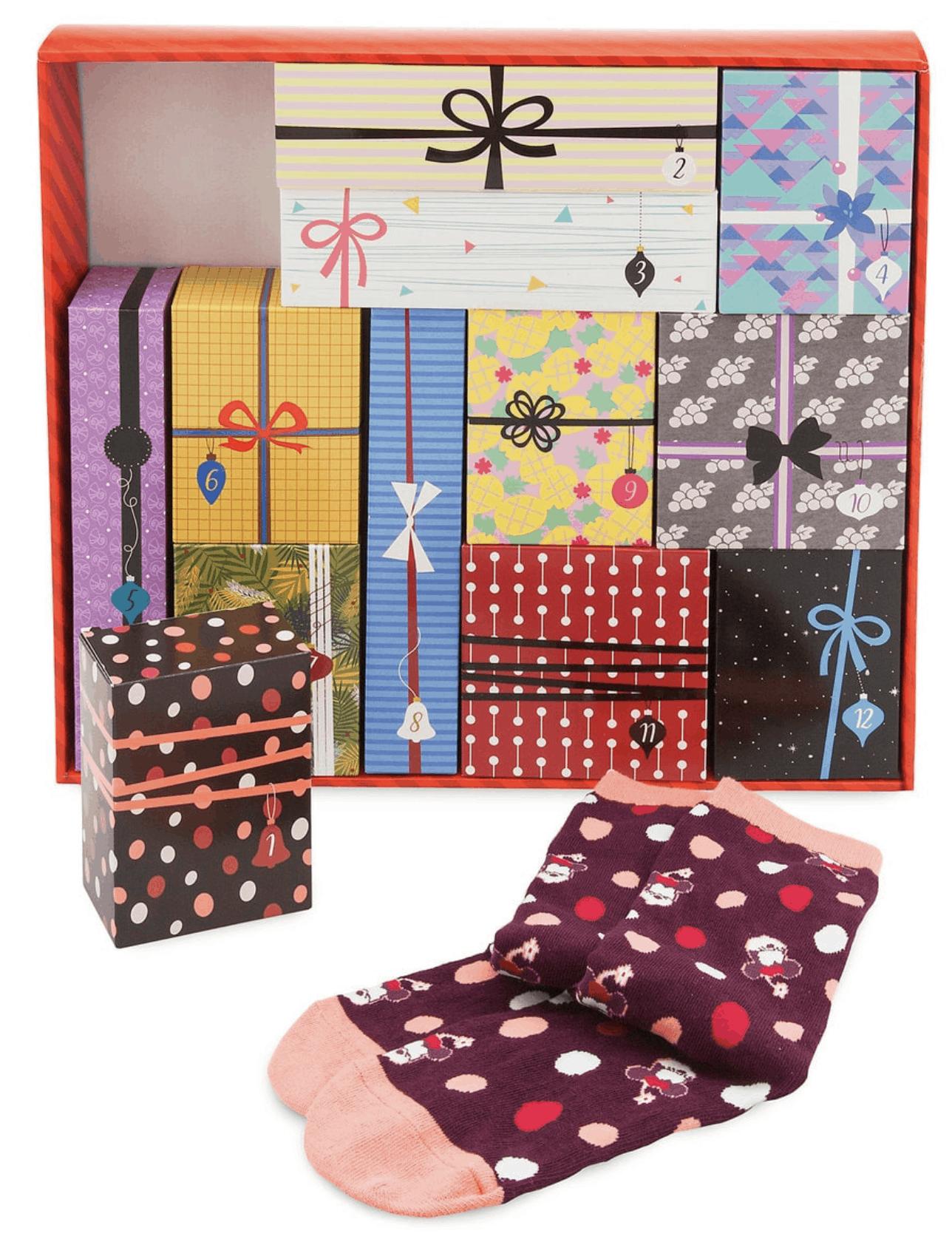 Womens Disney Sock Advent Calendar