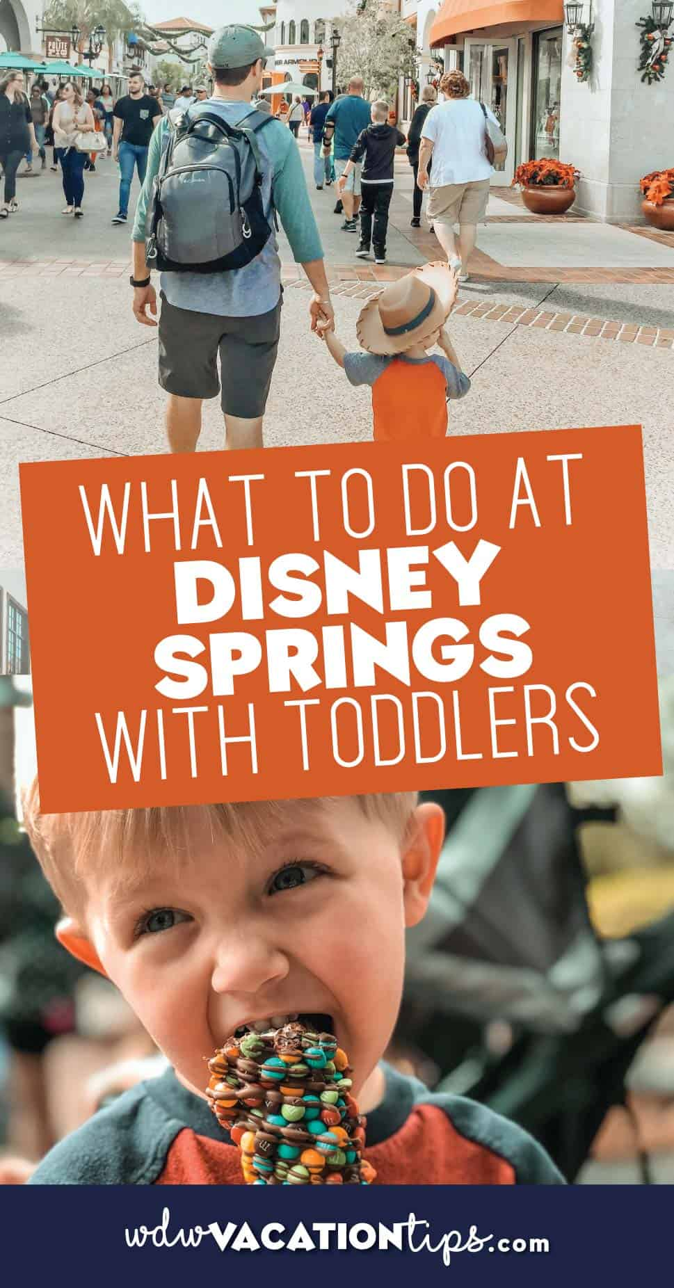 Toddlers at Disney Springs