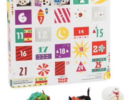 Tsum tsum plush advent calendar