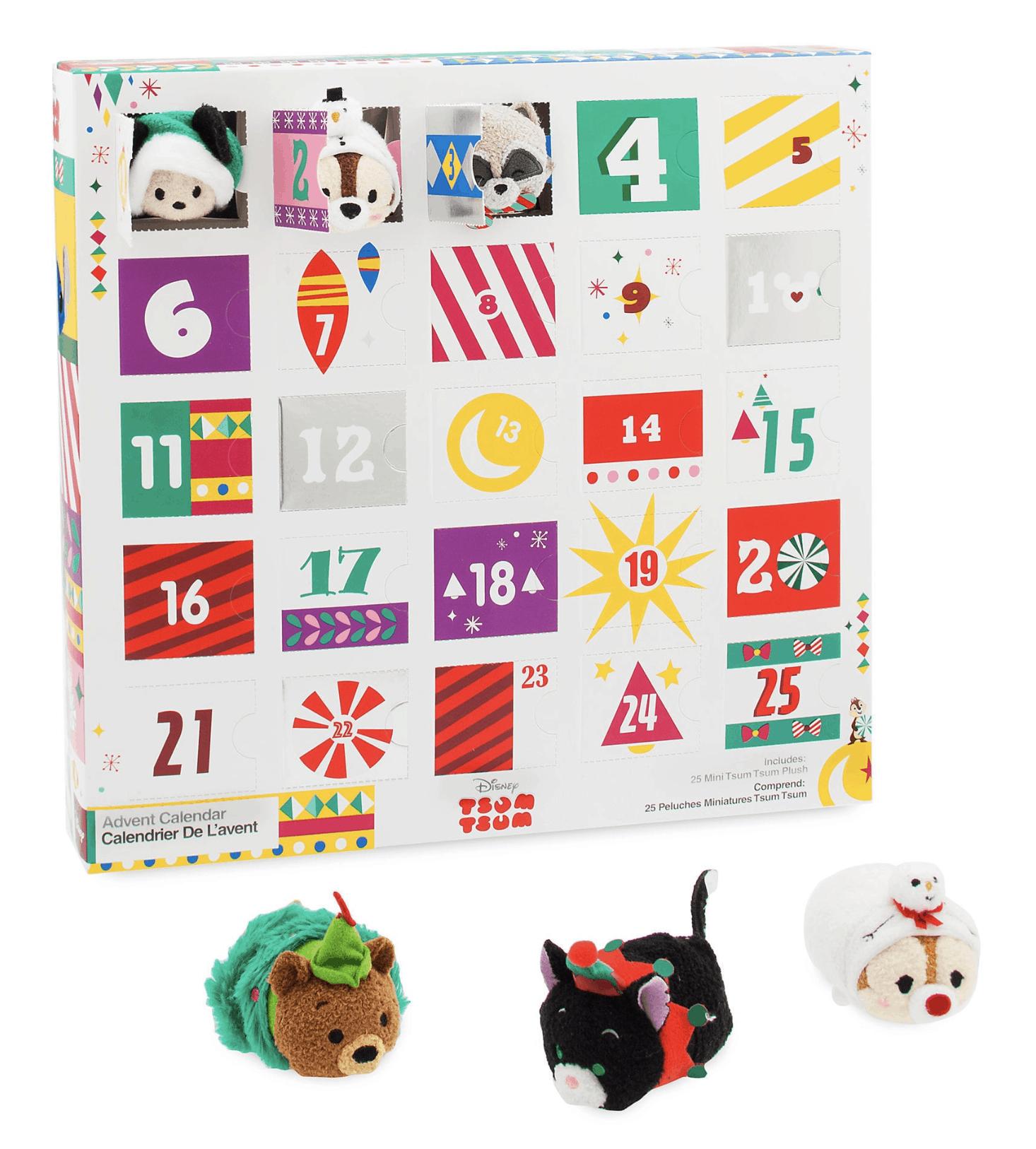 Tsum tsum plush advent calendar