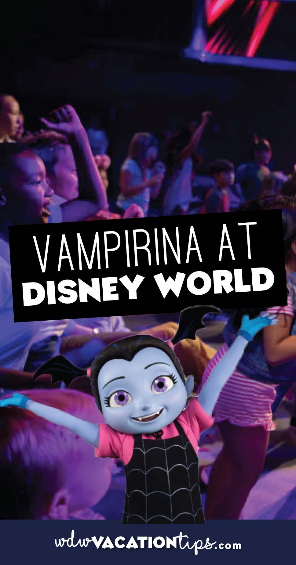 Vampirina at Disney World