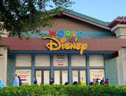 Disney Springs Opening Along with World of Disney 5