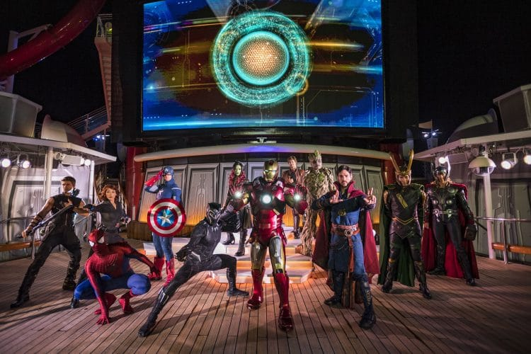 Marvel Days at Sea Disney Cruiseline