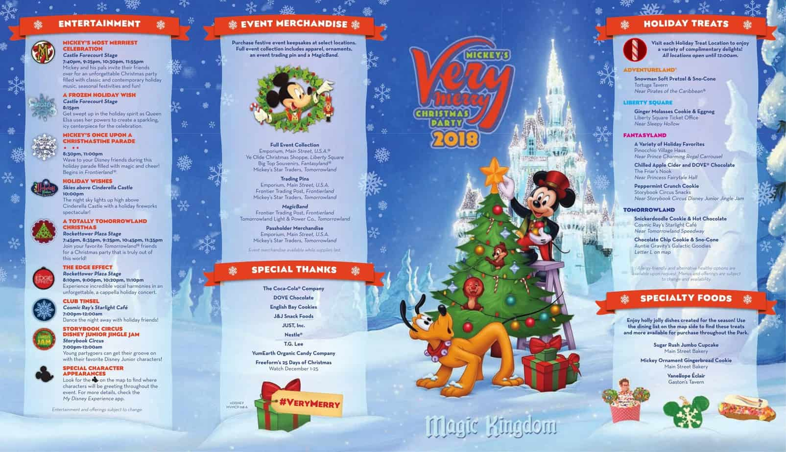 Guide To Mickey S Very Merry Christmas Party 2019 Wdw Vacation Tips