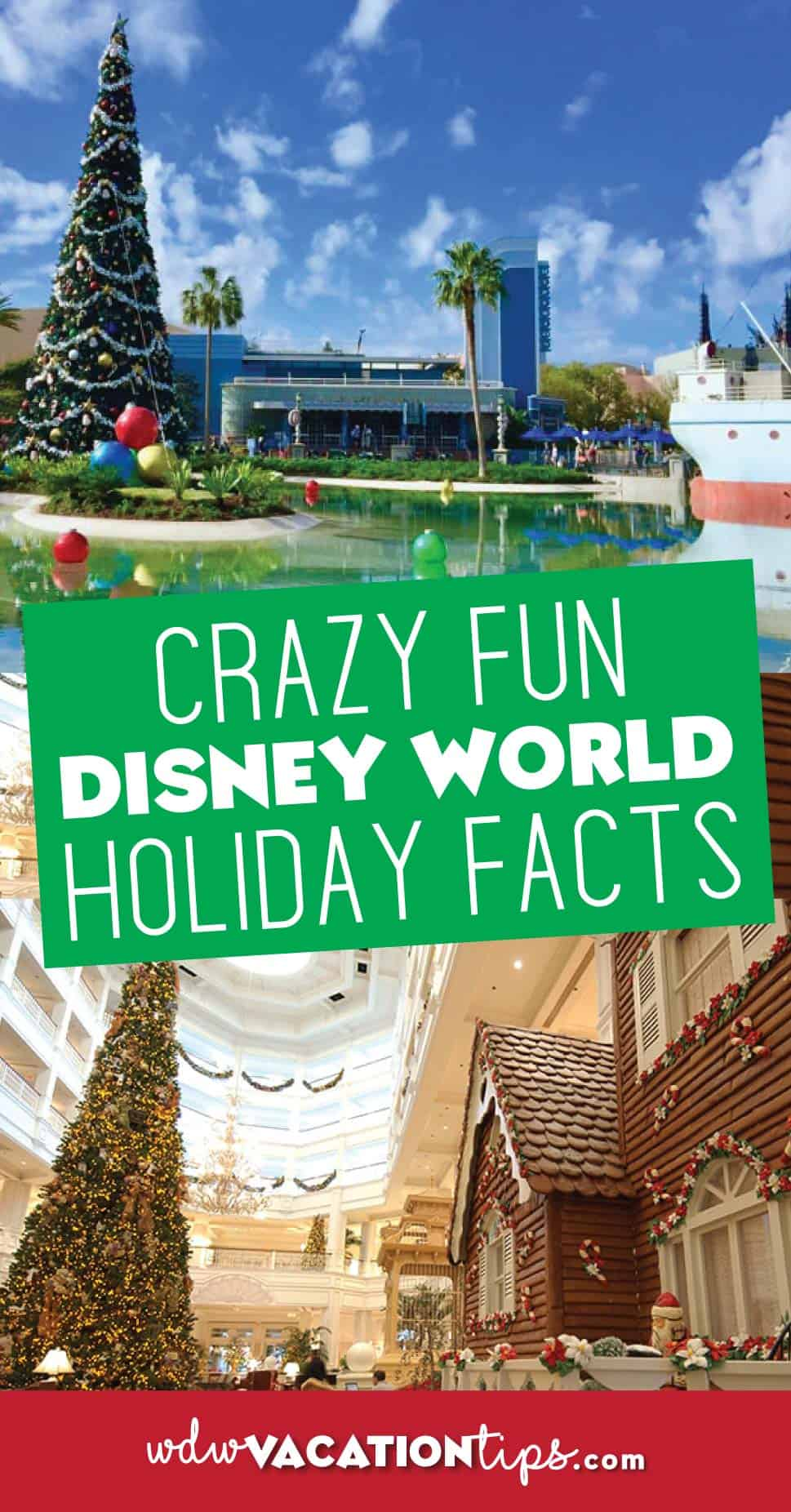 Crazy fun disney world holiday facts