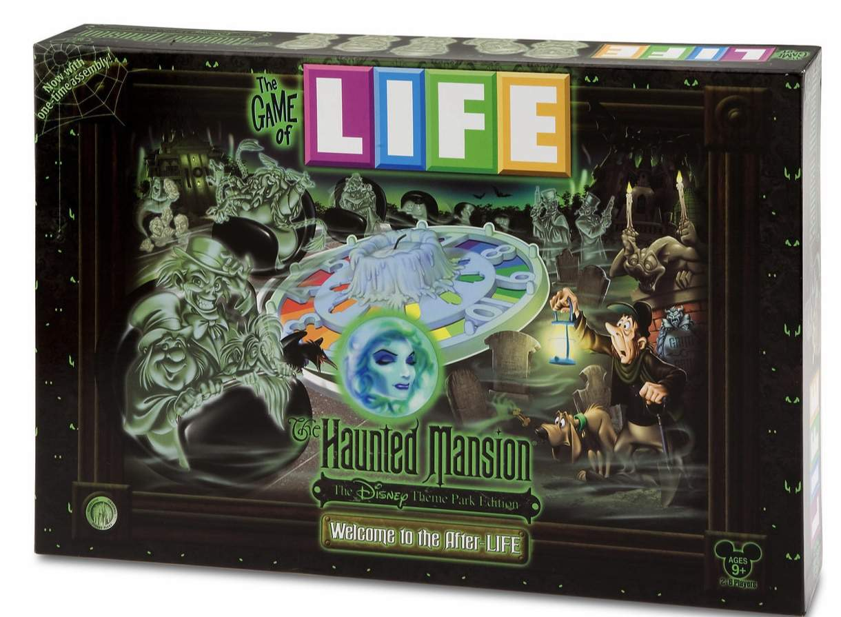 Haunted Mansion game of Life
