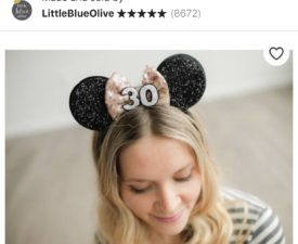 The Cutest Minnie Ears you can Buy on Etsy
