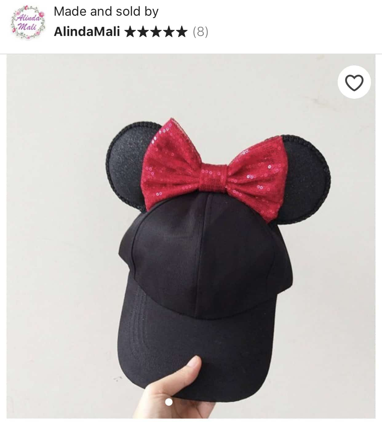 The Cutest Minnie Ears you can Buy on Etsy 22