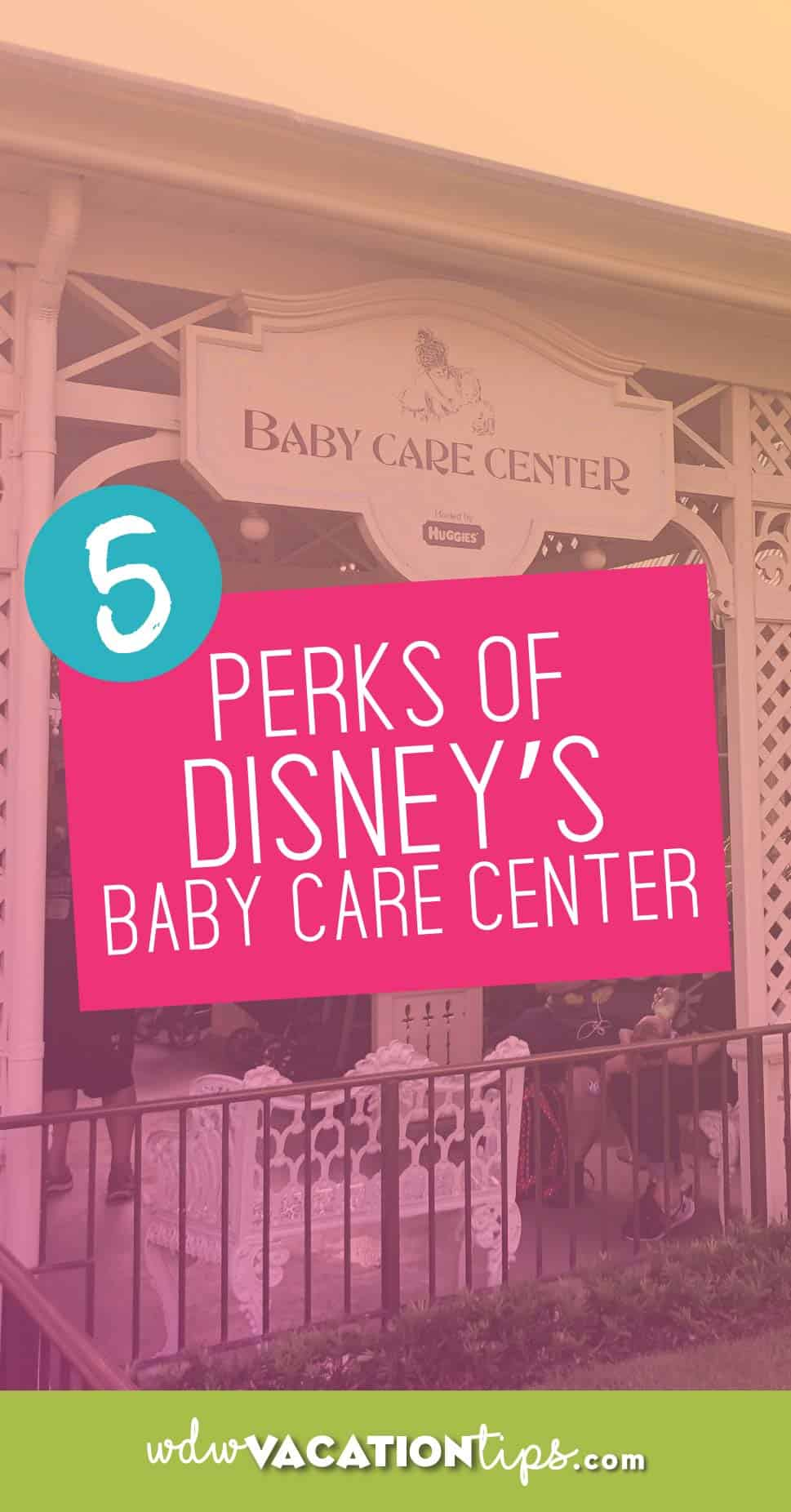 Disney World Baby Care Center