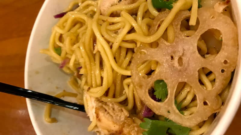 Pan Asian Noodles and Vegetables