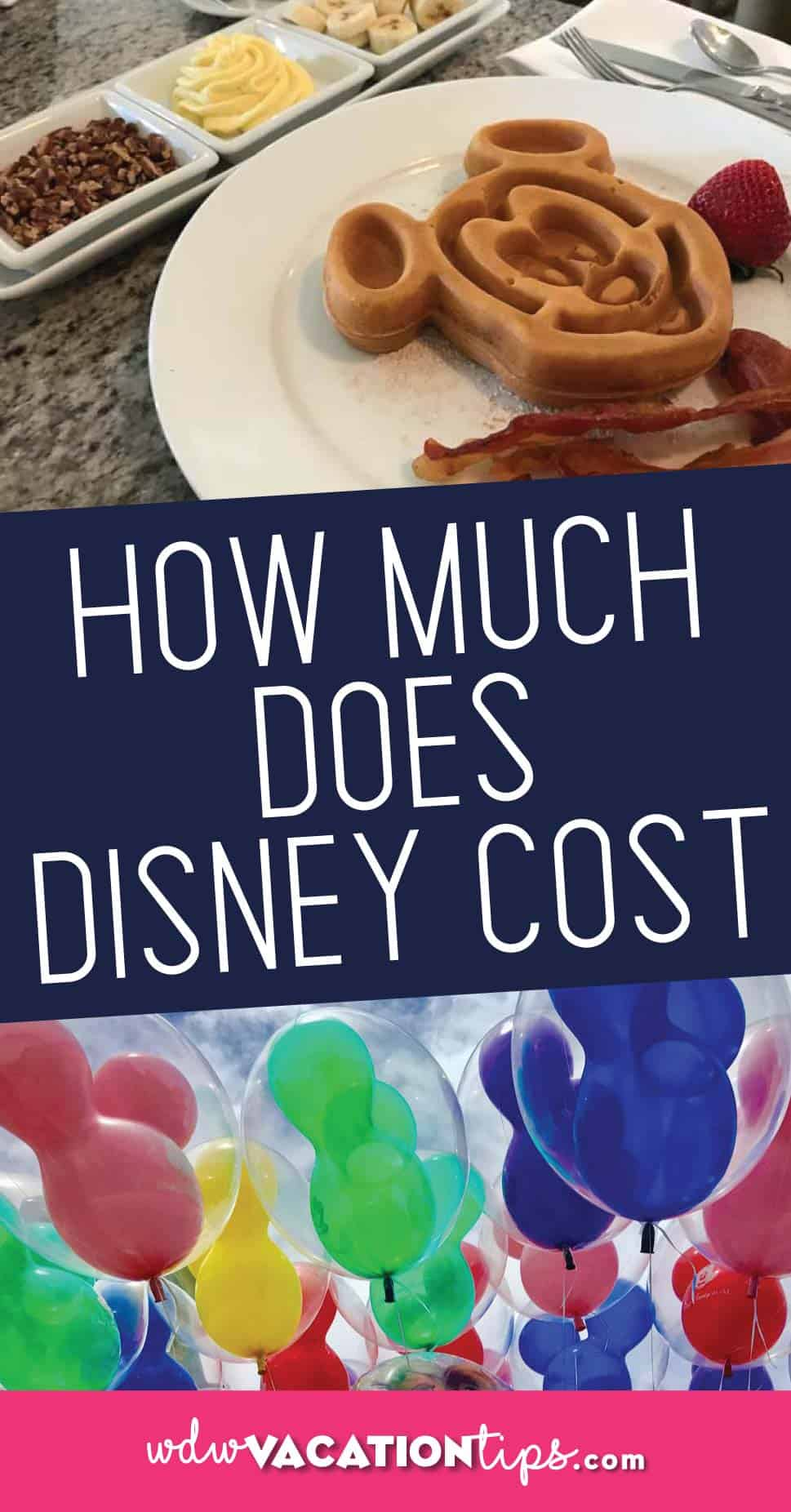 How much does a disney world vacation cost