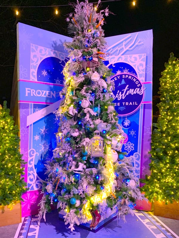 Frozen Christmas Tree