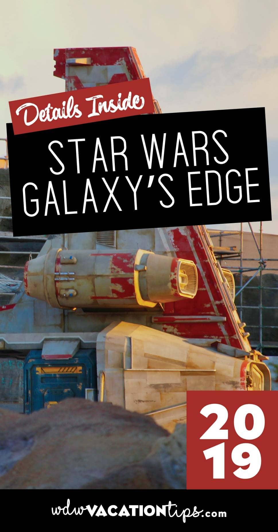 Disney World Star Wars Galaxy Edge
