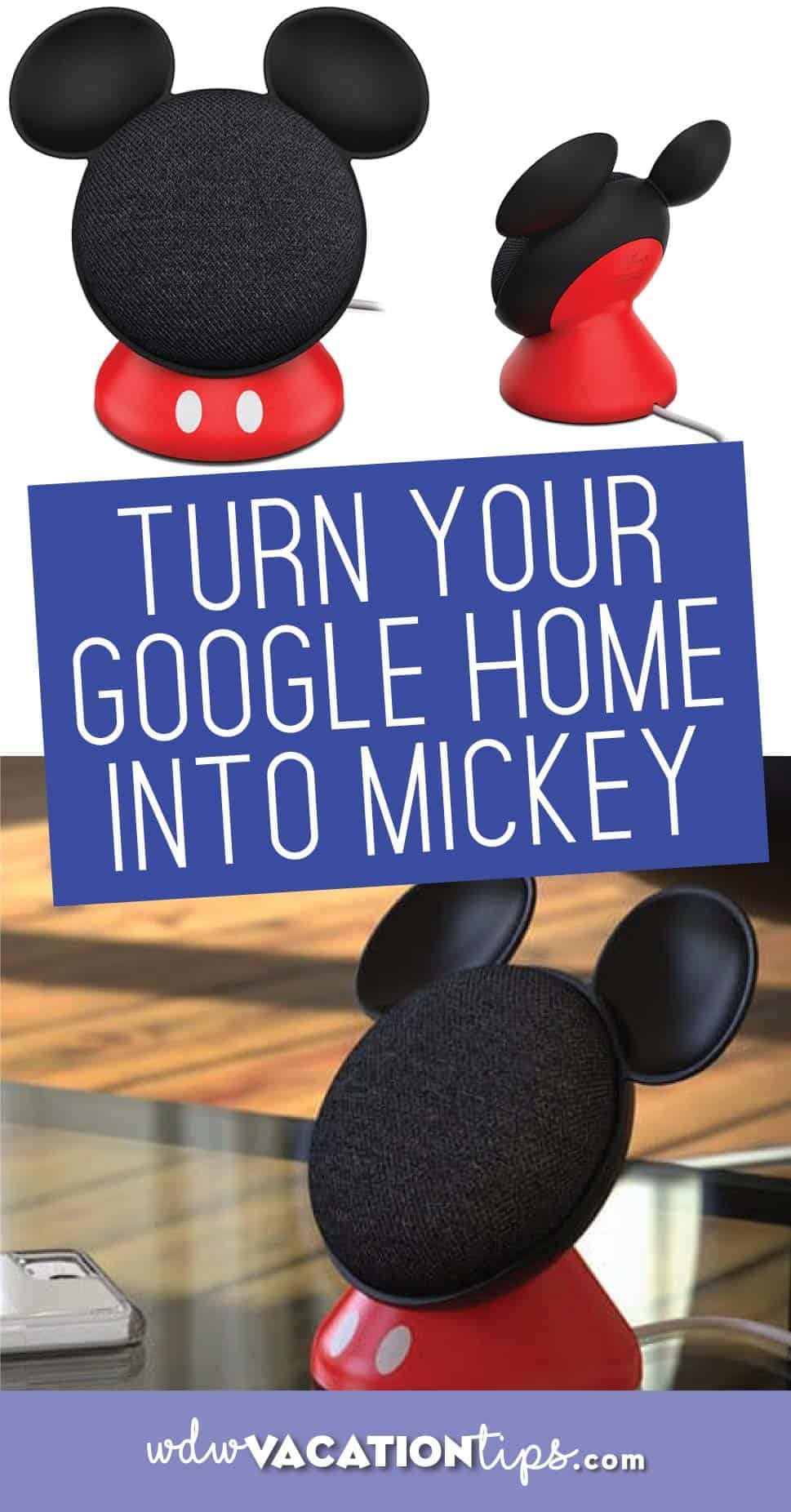 Google Home Mini Mickey Case