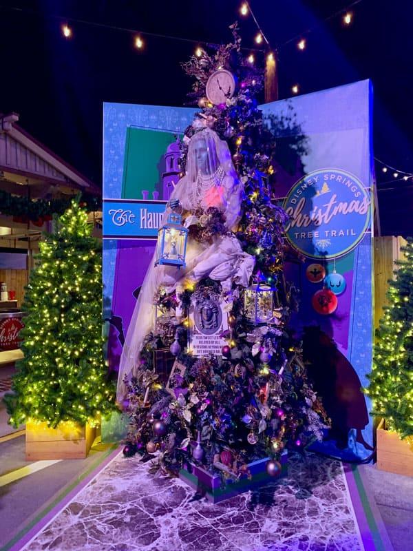 Haunted Mansion Disney Christmas Tree