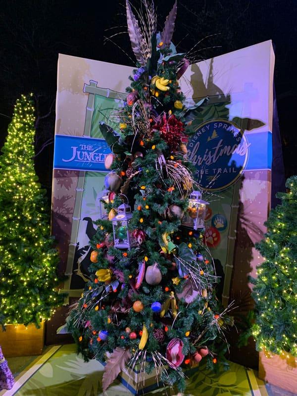 Disney Springs Christmas Tree Trail 9