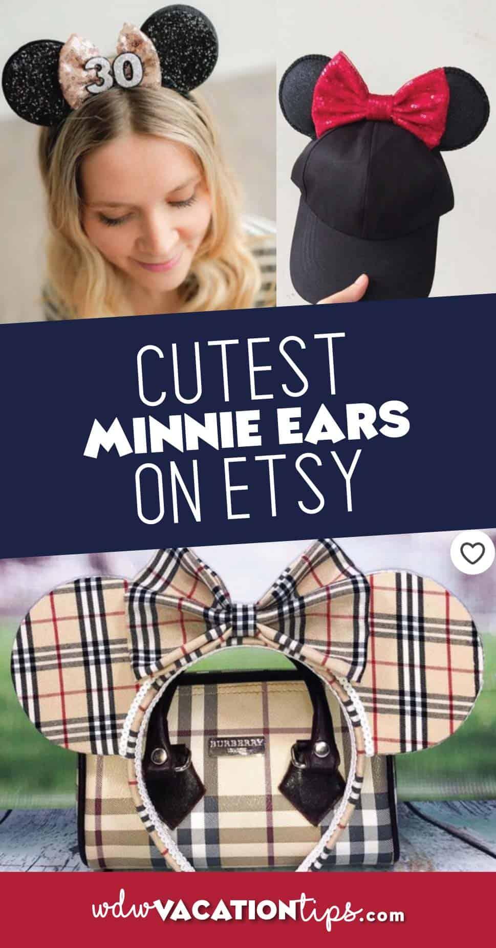 Cutest Minnie Ears on Esty