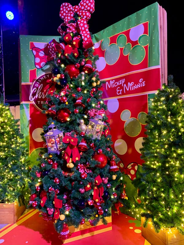 Minnie and Mickey Christmas Tree