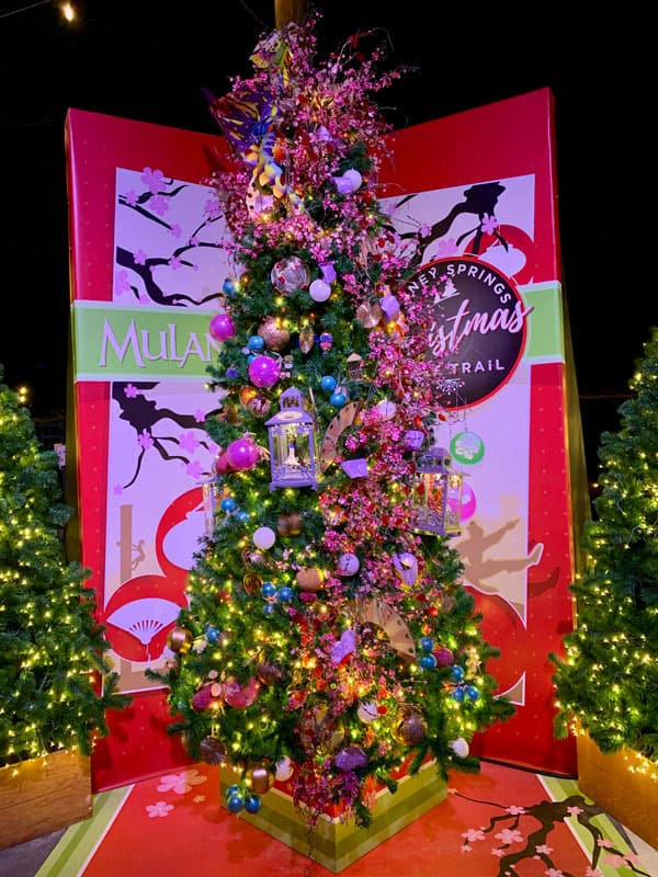 Mulan Christmas Tree