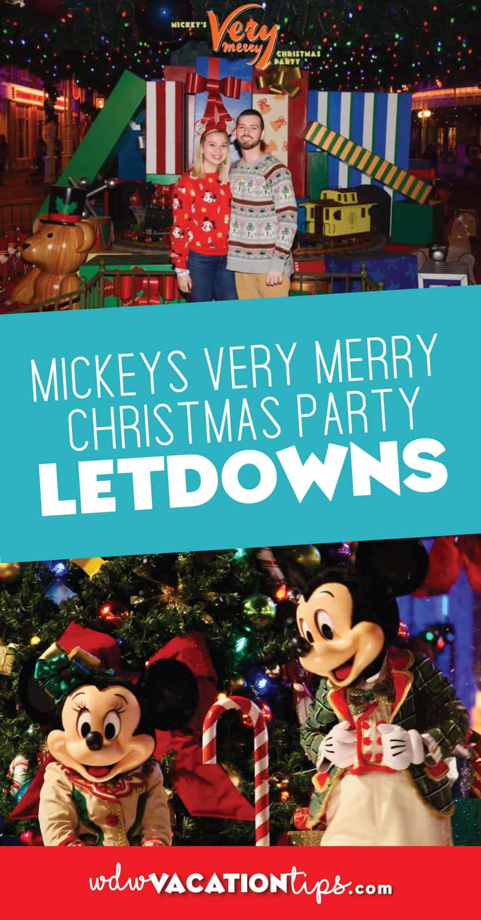Mickeys Very Merry Christmas Party Letdowns